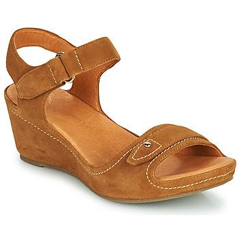 Chaussures Femme Sandales et Nu-pieds Mam'Zelle DARDA Cognac