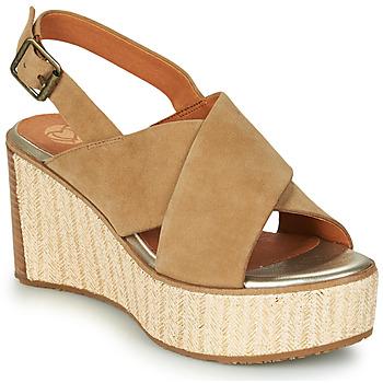 Chaussures Femme Sandales et Nu-pieds Mam'Zelle MEDINA Beige