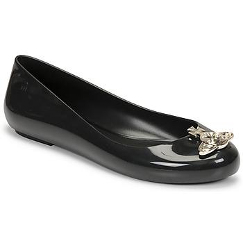 Chaussures Femme Ballerines / babies Melissa VIVIENNE WESTWOOD ANGLOMANIA - SWEET LOVE II Noir