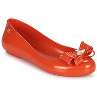 Chaussures Femme Ballerines / babies Melissa VIVIENNE WESTWOOD ANGLOMANIA - SWEET LOVE II Rouge