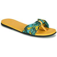 Chaussures Femme Tongs Havaianas YOU SAINT TROPEZ Jaune / Doré