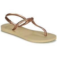 Chaussures Femme Sandales et Nu-pieds Havaianas TWIST Beige