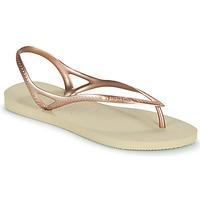 Chaussures Femme Sandales et Nu-pieds Havaianas SUNNY II Beige