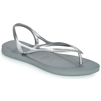 Chaussures Femme Sandales et Nu-pieds Havaianas SUNNY II Argenté