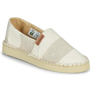 Chaussures Femme Espadrilles Havaianas ESPADRILLE CLASSIC FLATFORM ECO Beige