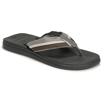 Chaussures Homme Tongs Havaianas NEW URBAN WAY Noir / Gris