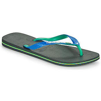 Chaussures Homme Tongs Havaianas BRASIL MIX Noir / Bleu