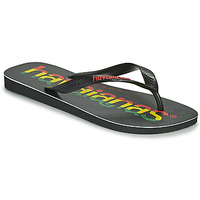 Chaussures Homme Tongs Havaianas TOP LOGOMANIA Noir