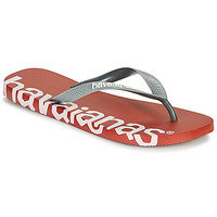 Chaussures Tongs Havaianas TOP LOGOMANIA HIGHTECH Rouge