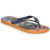 Chaussures Homme Tongs Havaianas TOP NARUTO Orange