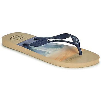 Chaussures Homme Tongs Havaianas HYPE Gris