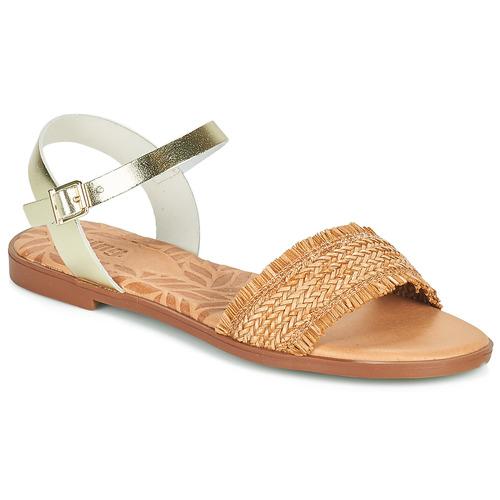 Chaussures Femme Sandales et Nu-pieds MTNG 51010 Marron
