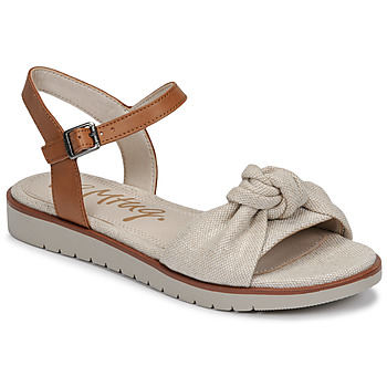 Chaussures Femme Sandales et Nu-pieds MTNG 50506 Beige