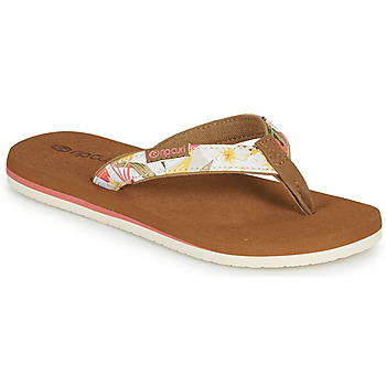 Chaussures Fille Tongs Rip Curl FREEDOM MINI Rose
