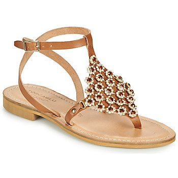 Chaussures Femme Sandales et Nu-pieds Tosca Blu PERLA Camel