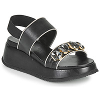 Chaussures Femme Sandales et Nu-pieds Tosca Blu BLENDA Noir