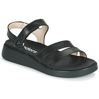 Chaussures Femme Sandales et Nu-pieds Wonders PERA Noir