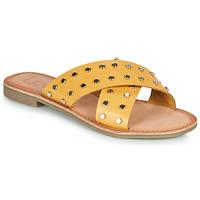 Chaussures Femme Mules Les Petites Bombes BELMA Jaune