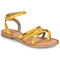 Chaussures Femme Sandales et Nu-pieds Les Petites Bombes BERYLE Jaune