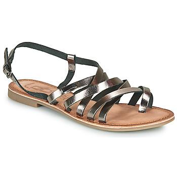 Chaussures Femme Sandales et Nu-pieds Les Petites Bombes BRENDA Gris