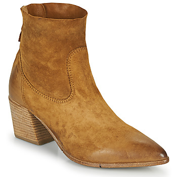 Chaussures Femme Bottines Moma OSTUNI Marron