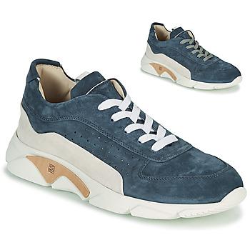 Chaussures Homme Baskets basses Moma NEW-CASTLE Bleu