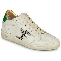 Chaussures Femme Baskets basses Serafini SAN DIEGO Blanc / Vert