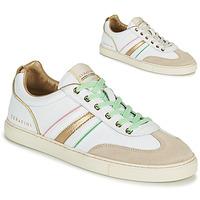 Chaussures Femme Baskets basses Serafini COURT Blanc / Doré