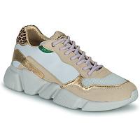 Chaussures Femme Baskets basses Serafini OREGON Blanc / Doré