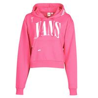 Vêtements Femme Sweats Vans WM KAYE CROP HOODIE Rose