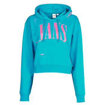 Vêtements Femme Sweats Vans WM KAYE CROP HOODIE enamel blue
