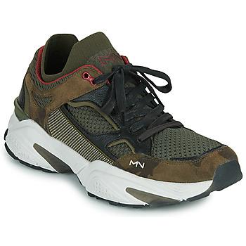 Chaussures Homme Baskets basses Skechers KRAZ - THURSTON Marron