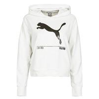 Vêtements Femme Sweats Puma NUTILITY HOODY Blanc