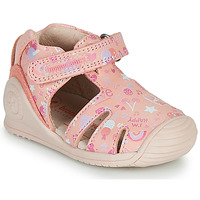 Chaussures Fille Sandales et Nu-pieds Biomecanics 212107 Rose