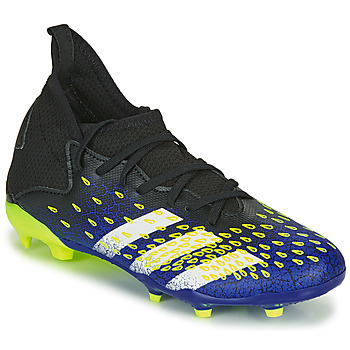 Chaussures Enfant Football adidas Performance PREDATOR FREAK .3 F Bleu / Jaune