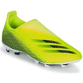 Chaussures Enfant Football adidas Performance X GHOSTED.3 LL FG J Jaune / Noir