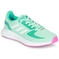 Chaussures Fille Baskets basses adidas Performance RUNFALCON 2.0 K Turquoise / Rose