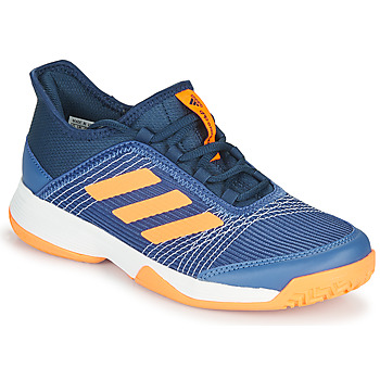 Chaussures Enfant Tennis adidas Performance ADIZERO CLUB K Bleu / Orange