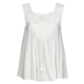 Vêtements Femme Débardeurs / T-shirts sans manche See U Soon 21111205B Blanc