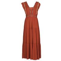 Vêtements Femme Robes longues See U Soon 21121116 Rouge