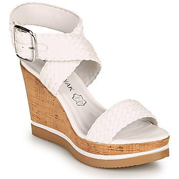 Chaussures Femme Sandales et Nu-pieds Chattawak JANE Blanc