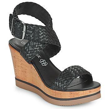 Chaussures Femme Sandales et Nu-pieds Chattawak JANE Noir