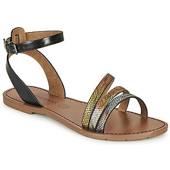 Chaussures Femme Sandales et Nu-pieds Chattawak PAGO Noir / Multicolor