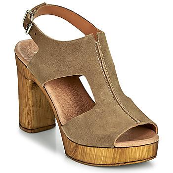 Chaussures Femme Sandales et Nu-pieds Myma POULISSA Taupe