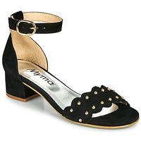 Chaussures Femme Sandales et Nu-pieds Myma POLIVAR Noir
