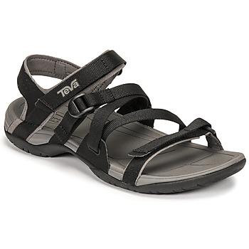 Chaussures Femme Sandales et Nu-pieds Teva ASCONA SPORT WEB Noir
