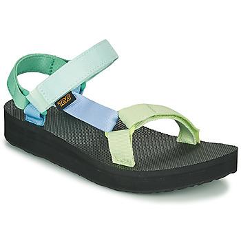 Chaussures Femme Sandales et Nu-pieds Teva MIDFORM UNIVERSAL Vert