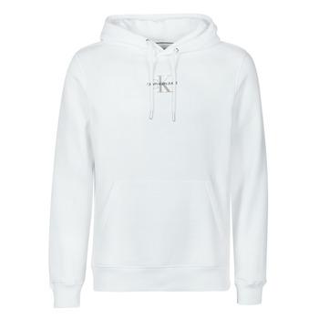 Vêtements Homme Sweats Calvin Klein Jeans NEW ICONIC ESSENTIAL HOODIE Blanc