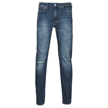Vêtements Homme Jeans droit Calvin Klein Jeans SLIM TAPER Bleu Medium