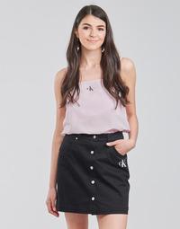 Vêtements Femme Tops / Blouses Calvin Klein Jeans MONOGRAM CAMI TOP Rose